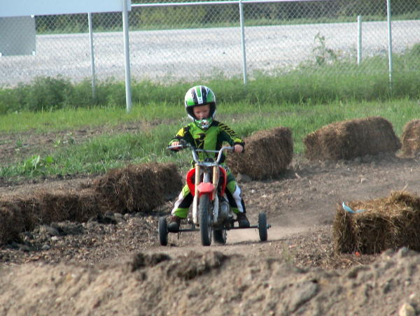 Young Rider at Gypsum City OHV Park