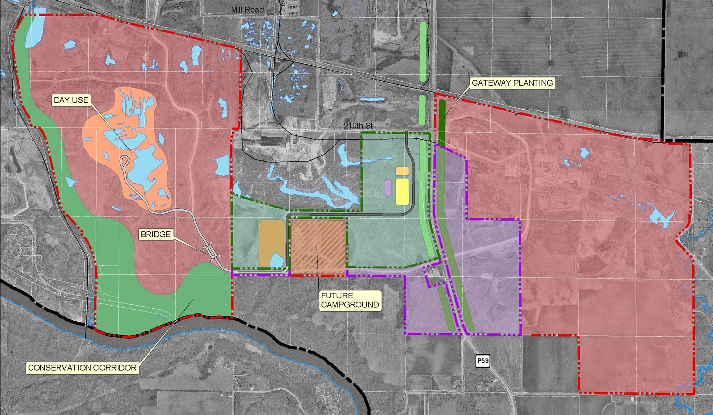 Tentative Phasing Plan for Gypsum City OHV Park