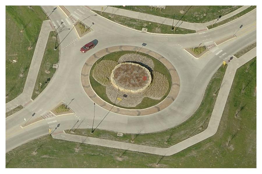 32nd St Roundabout