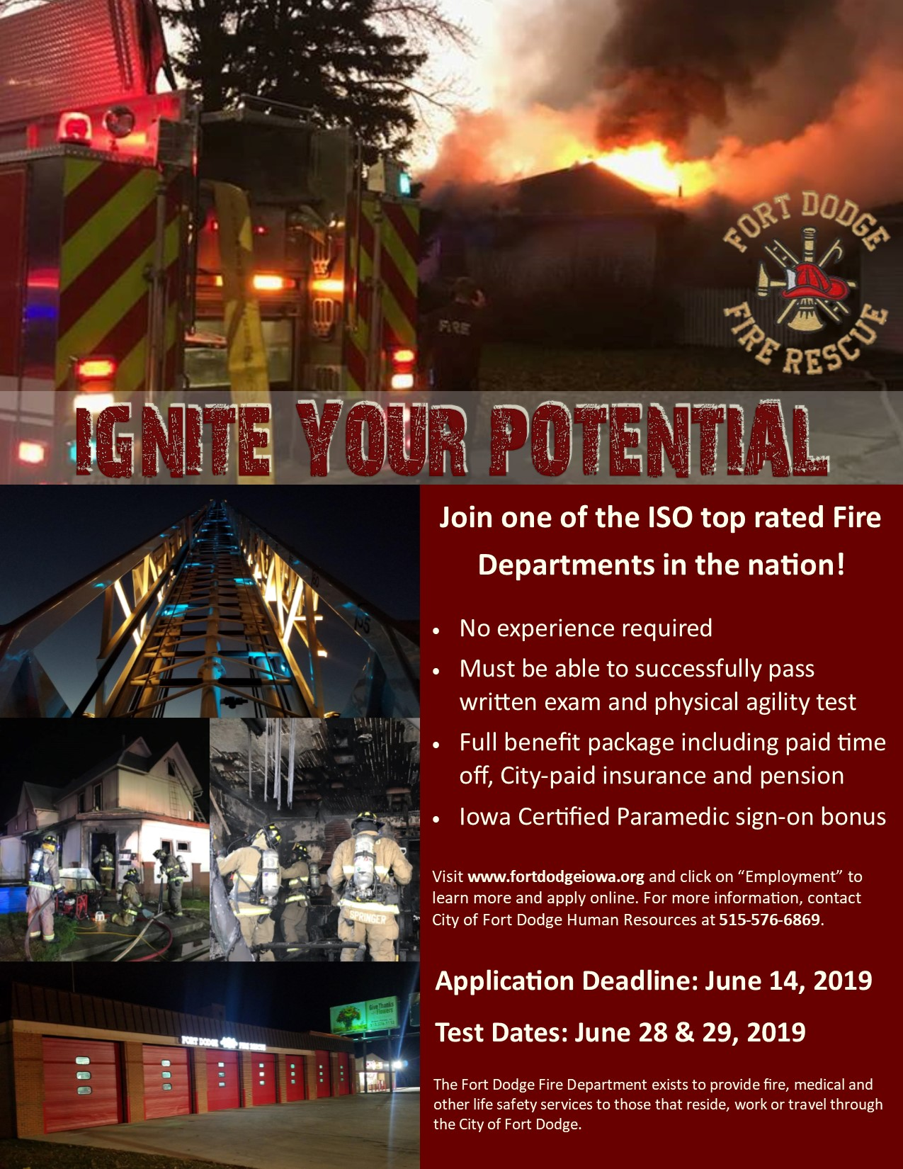 Recruitment / City of Fort Dodge, Iowa