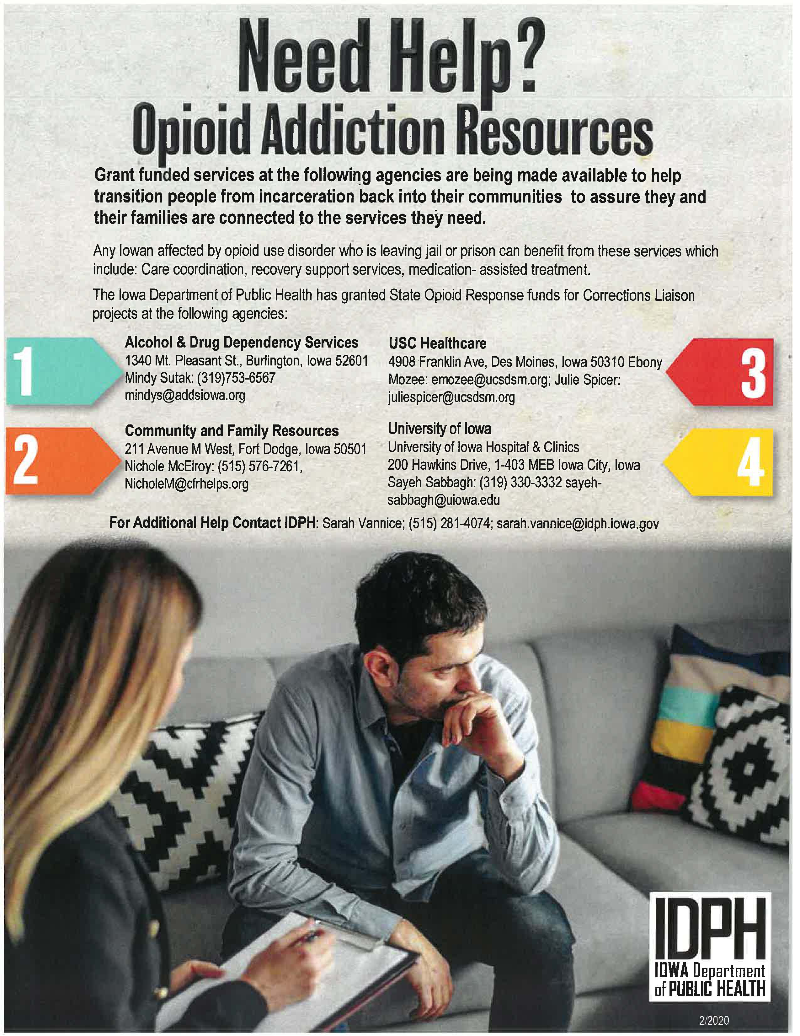 Opioid Addiction Resources