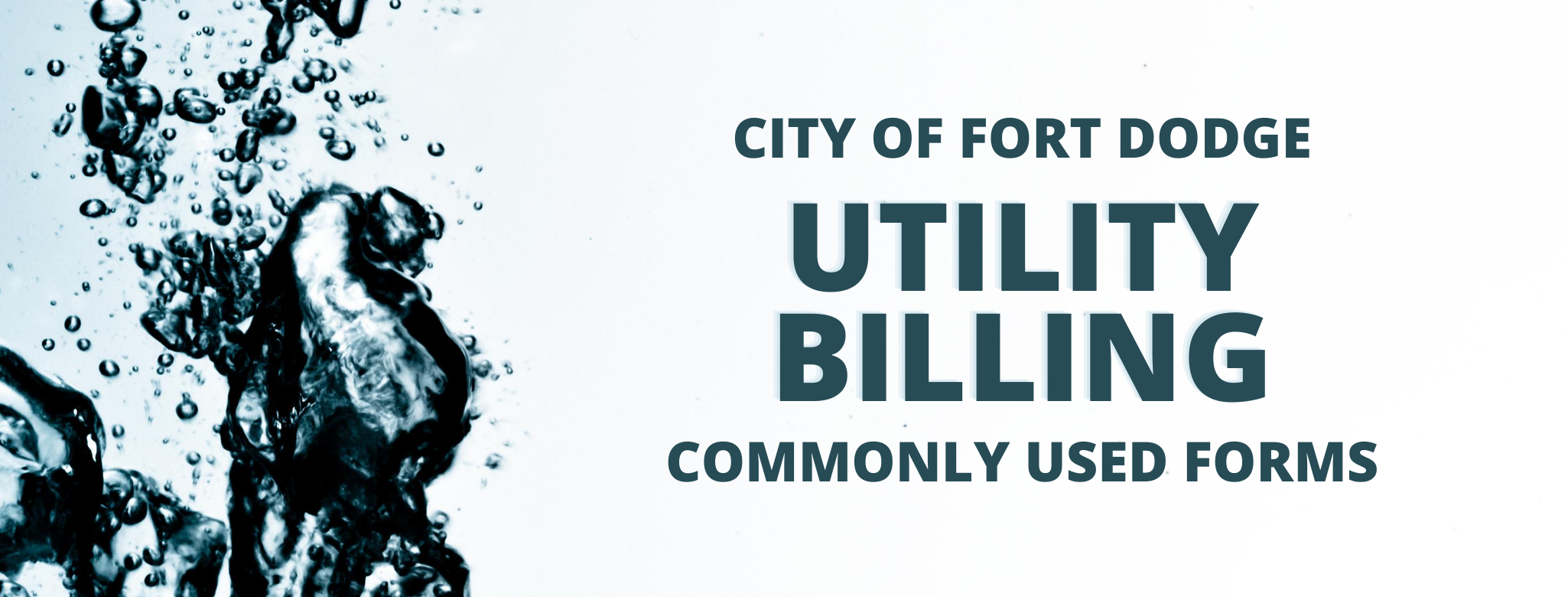 Utility Billing Forms